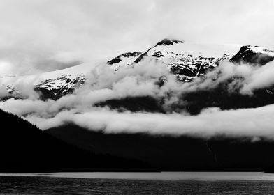 A Storm Above the Fjord