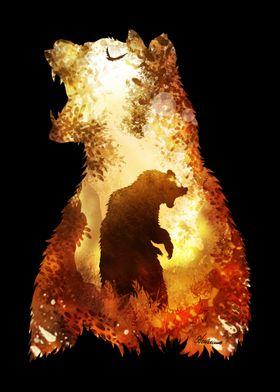 Fiery Bear