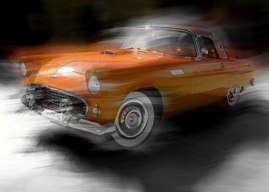 Orange Thunderbird
