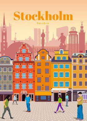 Travel to Stockholm