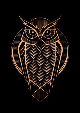 Deco Owl