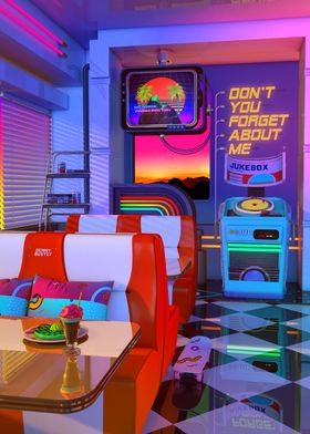 Retrowave Dine And Dream