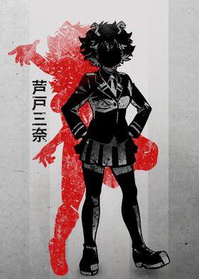 Crimson Mina Ashido