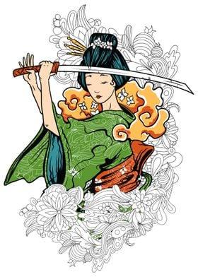 JAPAN GEISHA GEIKO GEIGI