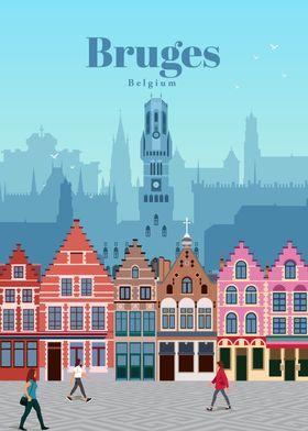 Travel to Bruges
