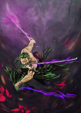 Zoro three swords