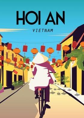 Hoi an vietnam poster