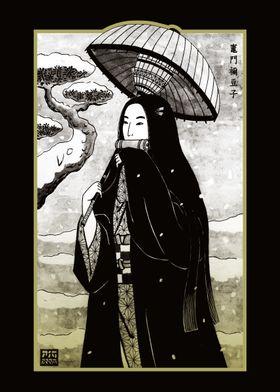 Demon Lady Ukiyoe