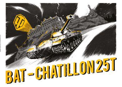The Bat-Signal feat. the Bat-Chatillon 25T