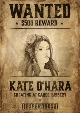Wanted Kate