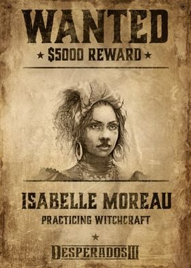 Wanted Isabelle