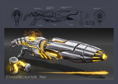 Disintegrator Ray