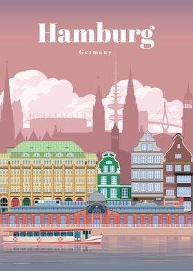 Travel to Hamburg