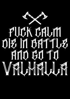 Fuck Calm Viking