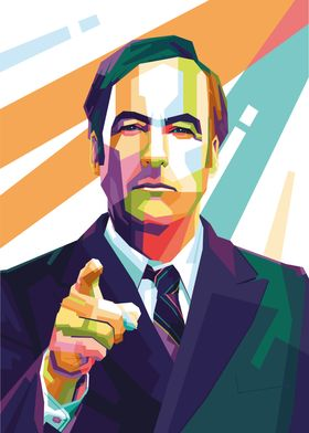 Saul Goodman Pop Art