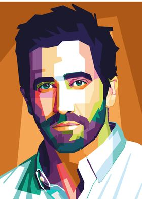 Jake Gyllenhaal Pop Art