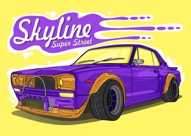 Skyline Super Street Car