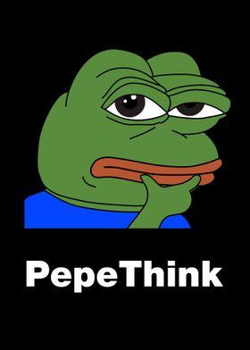 PepeThink Livestream Emote