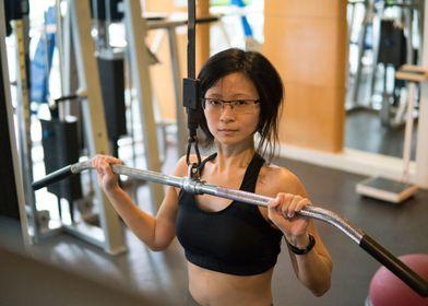 Indoor Fitness Model