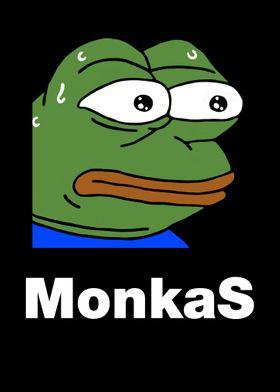 MonkaS Livestream Emote