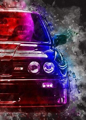 RETRO RACING CAR