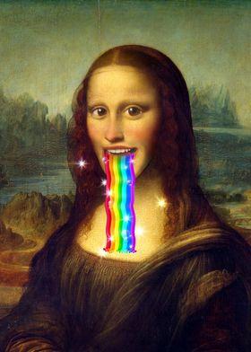 Mona Lisa Puking Rainbows
