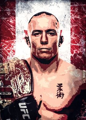 Georges Rush St Pierre
