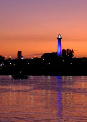 Lighthouse in Long Beach
