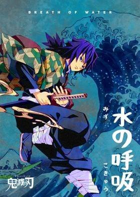 Anime Demon Slayer Giyuu