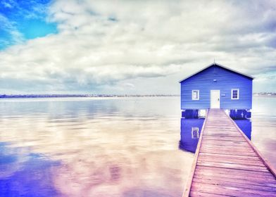 Blue Boat House