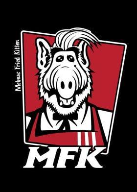Melmac Fried Kitten  ALF