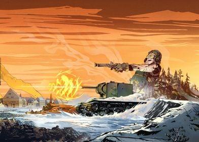 KV-2 (Soviet tank)
