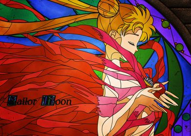 Anime Sailor Moon Back
