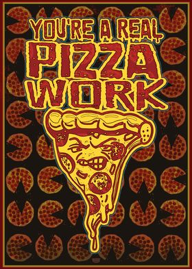 Real Pizza Work Pattern