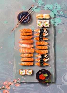 Sushi Food Japan
