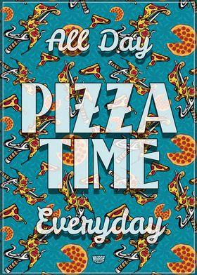Pizza Time Sai Pattern 2