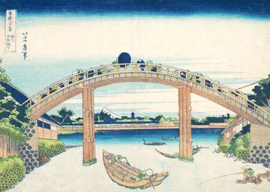 Under the Mannen Bridge