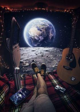 Gabriel on the Moon