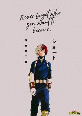 Anime Hero Academia Shoto