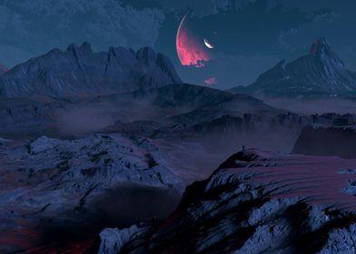 Badlands Night