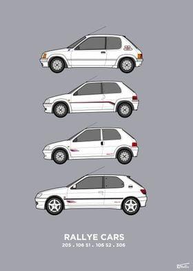 Rallye Cars Collection