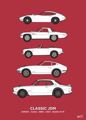 Classic JDM Collection
