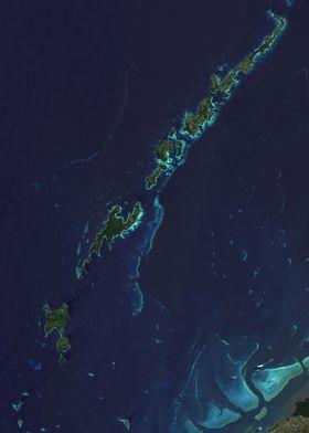 Fiji Yasawa Islands Map