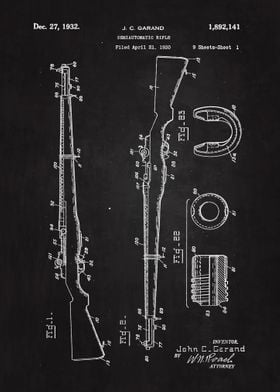 1930 Rifle Patent