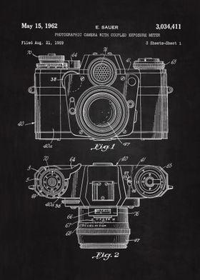 1962 Camera Patent Art