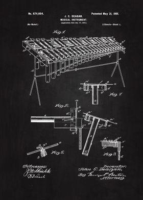 1901 Xylophone Patent