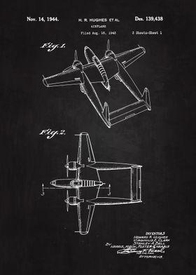 1944 Airplanes Patent Art