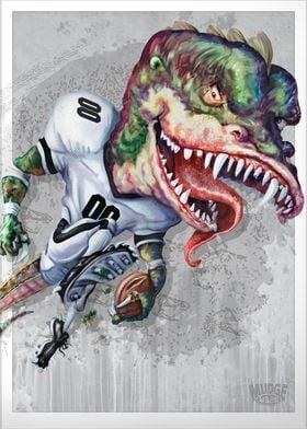 Smash Mouth Dino Football