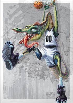 Monster Dunk Dino Hoops