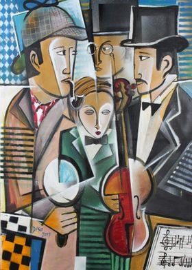 Art of Sherlock Dada